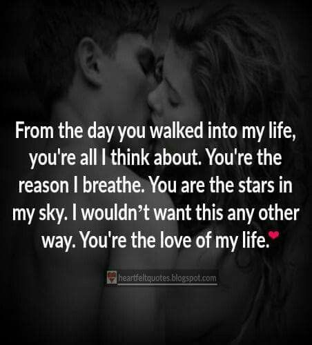 Love Quotes About Life: 25+ Best Romantic Quotes For Girlfriend On Pinterest