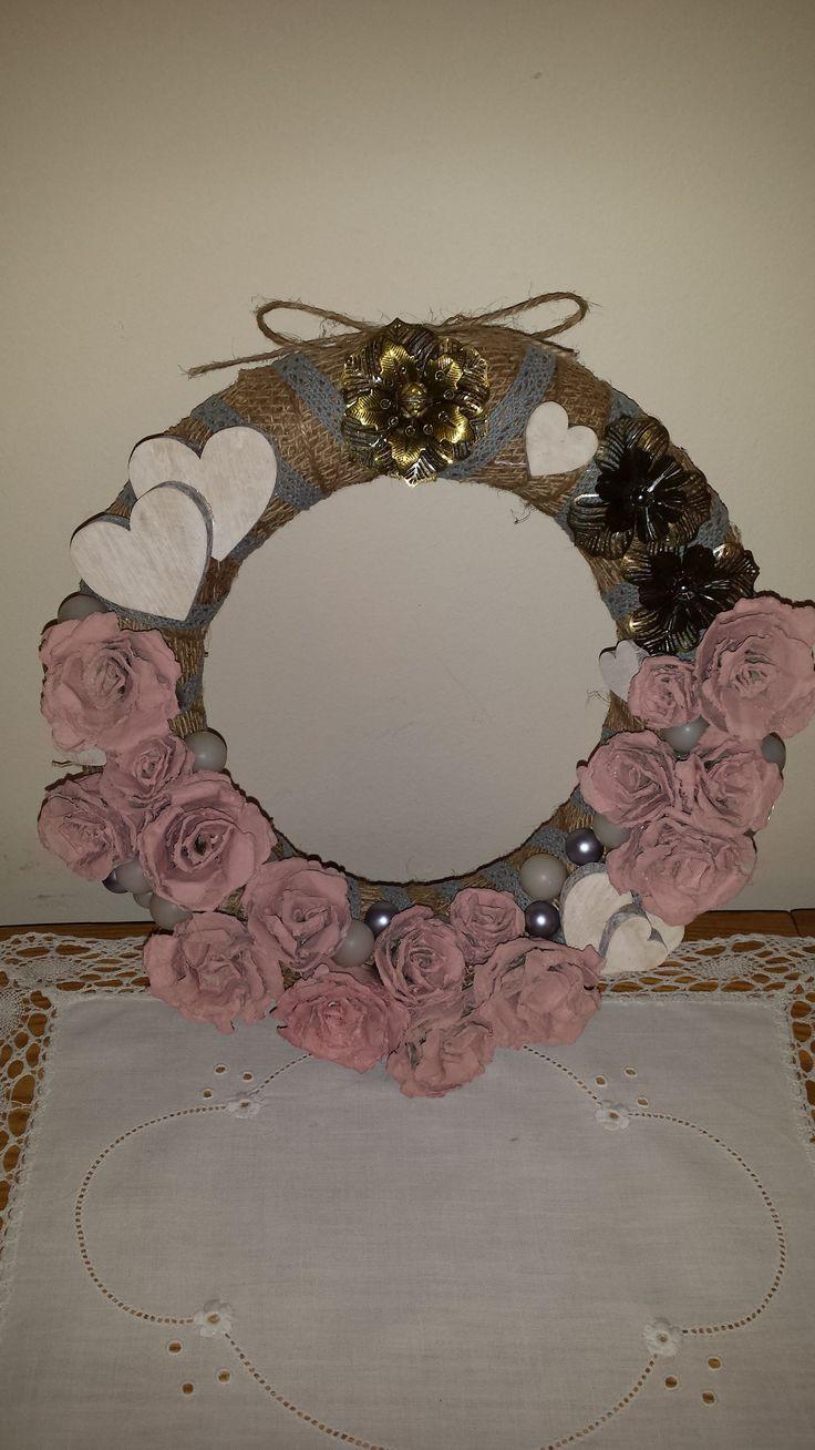 Valentýnský věněček - wreath.
