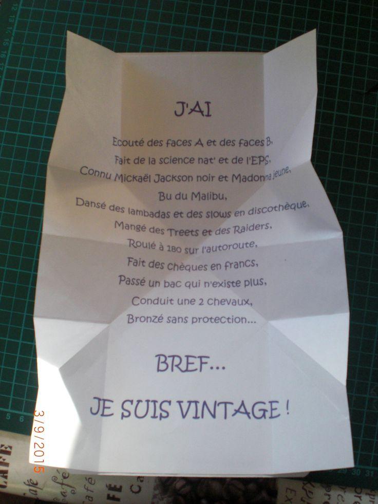 Carte anniversaire 50 ans Val | Carte anniversaire 50 ans, Invitation anniversaire 50 ans, Texte ...