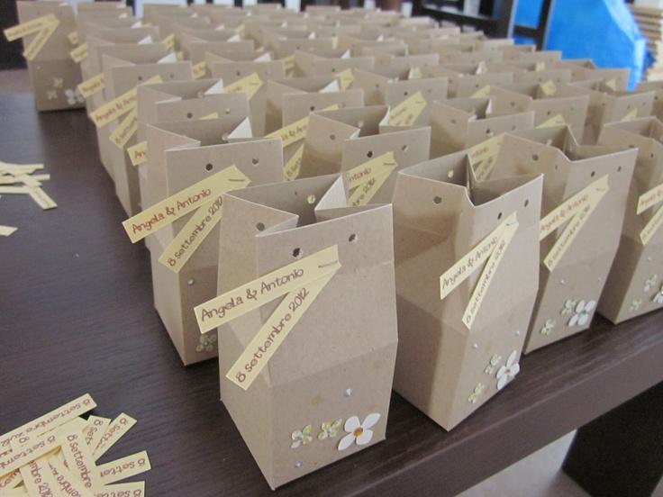 sacchettini confetti