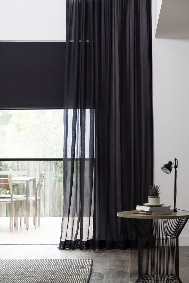 25 Best Ideas About Black Curtains On Pinterest Black