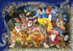 Image of product Ravensburger 19674 - Snow White - 1000 pieces jigsaw puzzle