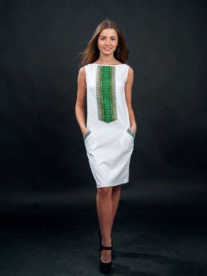 Платье белое с вышивкой - Volyns'ka Vyshyvanka - 2875022