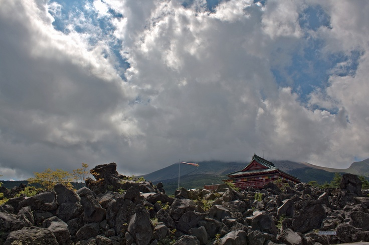 Onioshidashien temple #japan #gunma