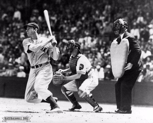 May 23, 1948: Joe DiMaggio hits 3 straight HR in 1st game of doubleheader against CLE, 2 of them off Bob Feller and the third off Bob Muncrief. His line would be 4-3-4-6 for the first game