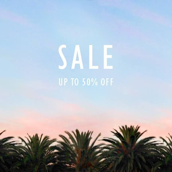 SALE BEGINS NOW! IN STORES AND ONLINE HERE.