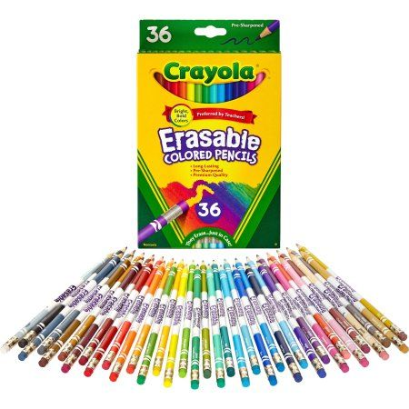 Colored Pencils 12 Count Crayon and Pencil Sharpener Great Art Kit 12 Count 24 Count Ultra-Clean Washable Markers Crayola Crayons
