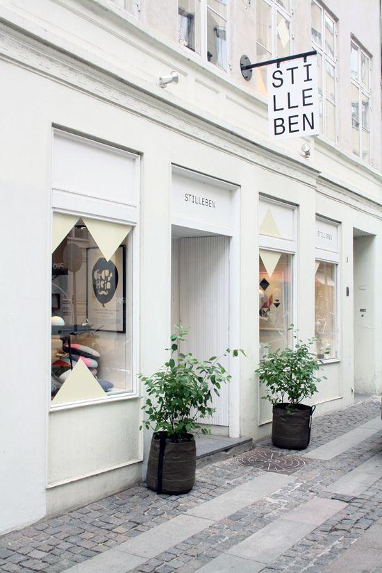 This type of front A shop full of modern Danish whimsy. Stilleben in Copenhagen