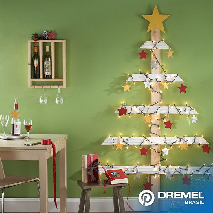 Utilizando uma micro retifica Dremel, você poderá realizar decorações tanto para o natal ou para outras ocasiões.