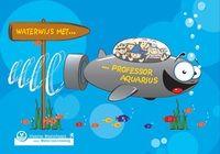 Waterwijs met professor aquarius Brochure met weetjes over de water cyclus, de productie en distributie van drinkwater, waterzuivering, water in de derde wereld, zuinig omspringen met water,... Doelgroep: Vanaf 10 jaar
