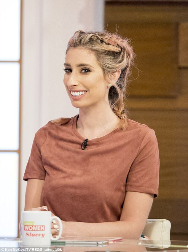 Shocked: Speaking on Thursday's Loose Women, Stacey Solomon claimed that the sex of a baby is not important following Danielle Lloyd's comments about gender selection