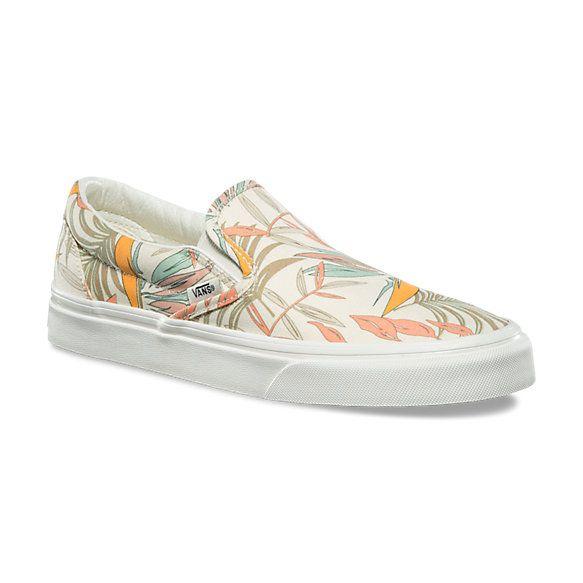 California Floral Classic Slip-On   Shop At Vans   Slip on, Slip ...