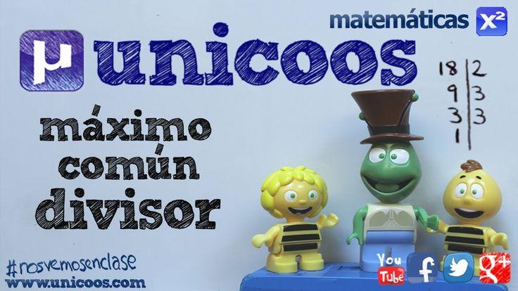 MCD Maximo comun divisor con descomposicion factorial SECUNDARIA (1ºESO)...