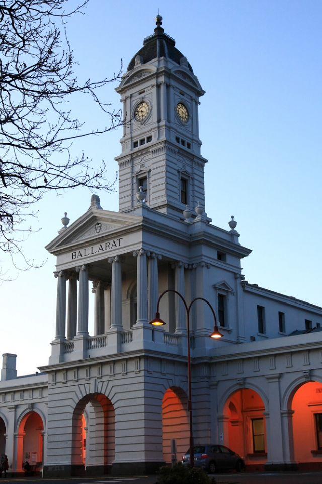 Ballarat Train Station-Victoria-Australia
