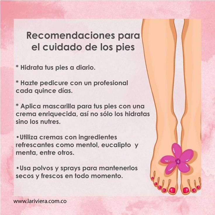 Tips de belleza - Recuerda que tus pies sostienen la totalidad del peso corporal y permiten la movilidad, ¡cuídalos! Tips la Riviera