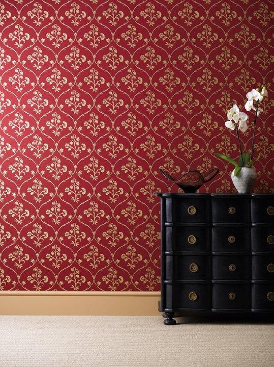 Cranford cherry gold c 1765 found in cranford middlesex · wallpaper manufacturerslittle greenewall
