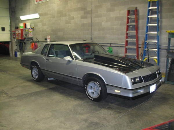 1987 chevy monte carlo ss aerocoupe For Sale