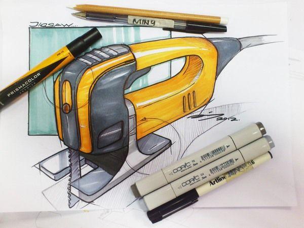 Hand Sketches / Doodling by Liu Ming Jiang, via Behance