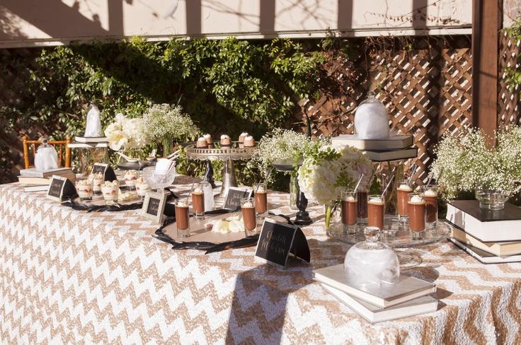 20 S Inspired Desert Table From 24 Carrots Catering
