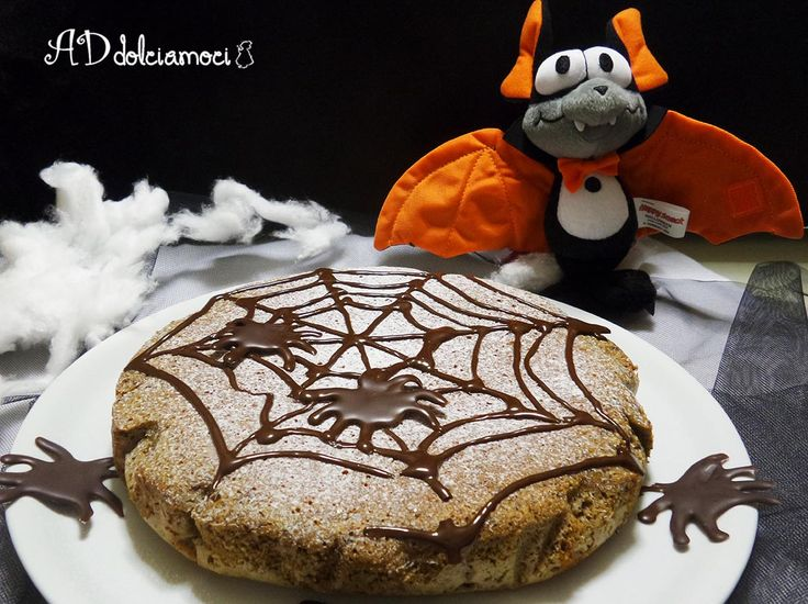 una buonissima torta alla zucca e cioccolato, in tema halloween http://addolciamoci.altervista.org/2014/10/torta-zucca/