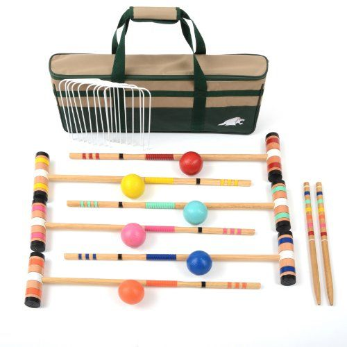 Lion Sports Select 6 Player Croquet Set, 26-Inch, 2015 Amazon Top Rated Croquet #Sports