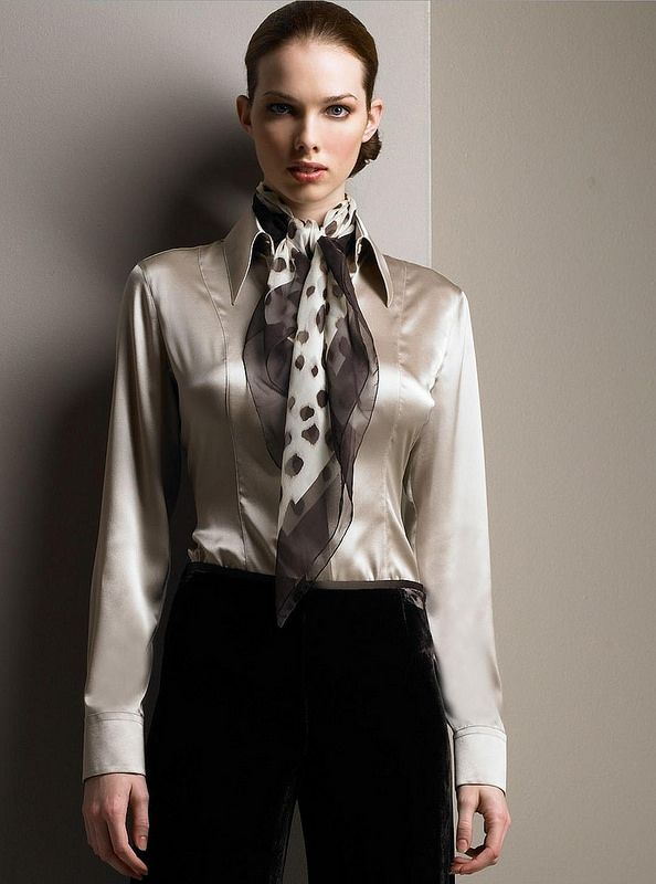 Women Silk Blouses