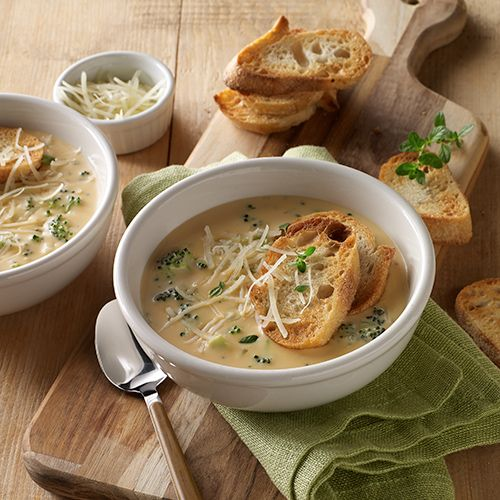 I'm checking out a delicious recipe for Slow Cooker Broccoli Cheese Soup from Dillons!
