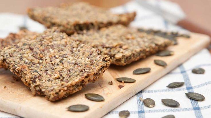 Itsetehty näkkileipä on terveellistä herkkua.  Copyright: Shutterstock. Kuva: Shutterstock.