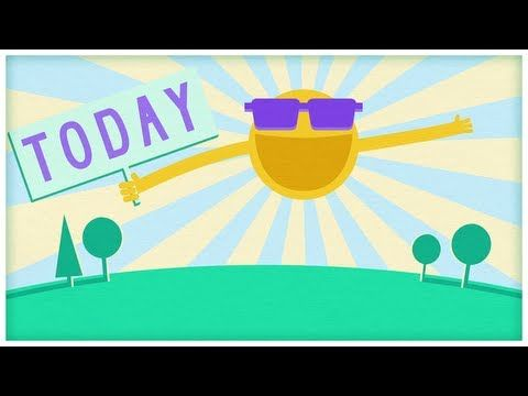 """▶ Time: """"Yesterday, Today, and Tomorrow"""" by StoryBots. They are always SO catchy and awesome!"""