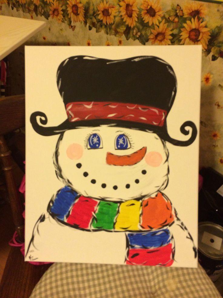 42 best Canvas Art/Crafts images on Pinterest | Christmas crafts ...