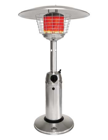 Napoleon Tabletop Series http://www.classicfireplace.ca/patio-heaters.html