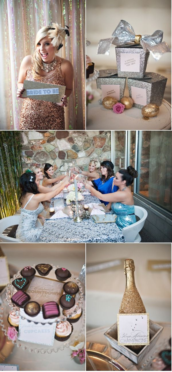 for my bachelorette party, everyone should have to wear glitter, sparkles and sequins...what do you think?