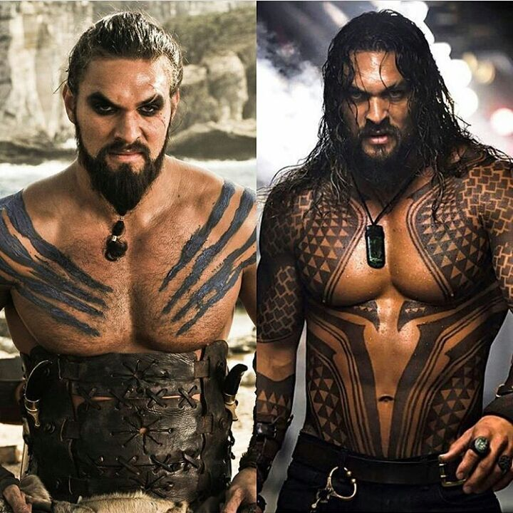 "1,007 curtidas, 16 comentários - Beardsandinks (@stylish_beards_and_inks) no Instagram: ""Khalas drogo or aquaman @prideofgypsies ❤ @stylish_beards_and_inks """