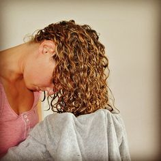 Curly Hair Routine for Gorgeous Type 3a Curls #curlyhair, #curls #naturallycurly