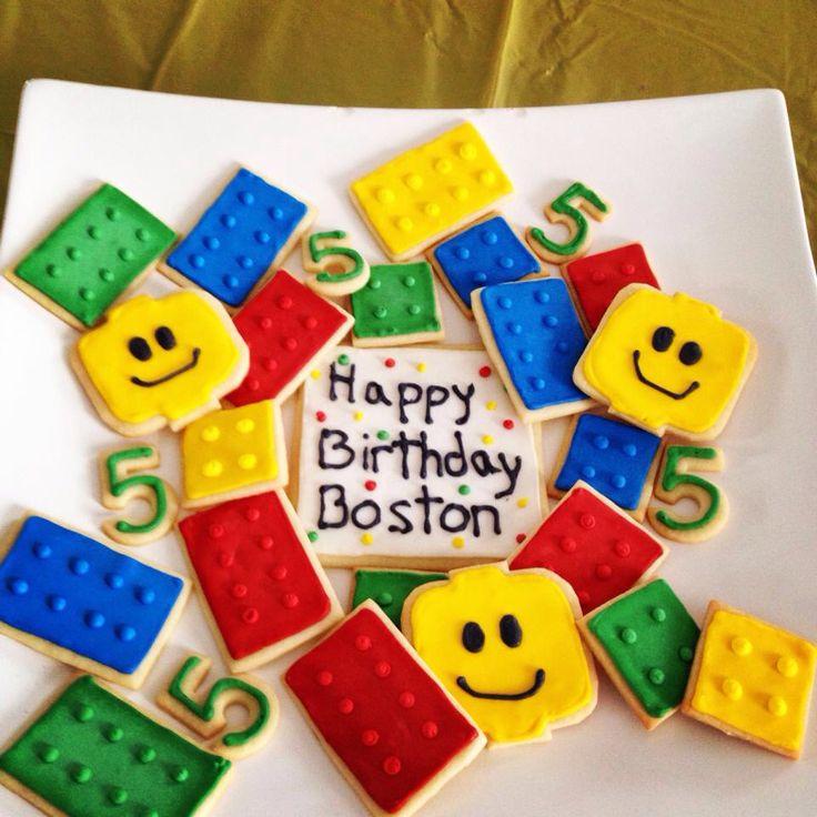 Lego party - Lego cookies