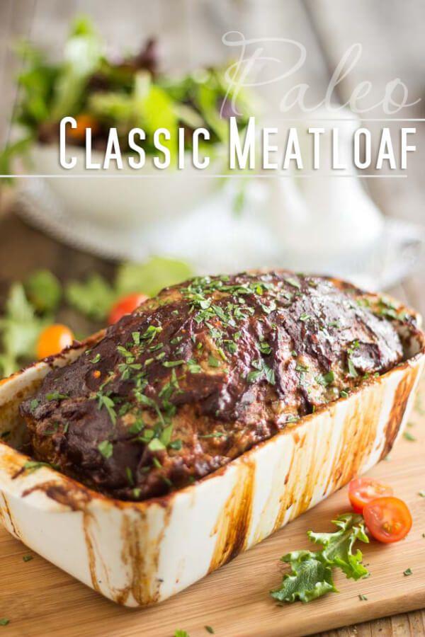 Classic Paleo Meatloaf Recipe