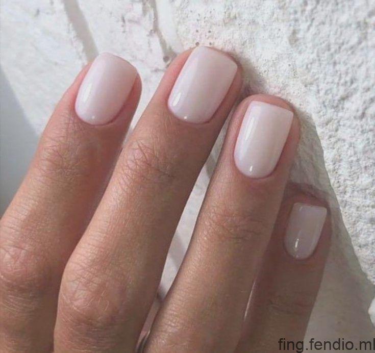 couleur parfaite des ongles pour demoiselles d'honneur # ongles de mariage # …   – Idées vernis à ongles