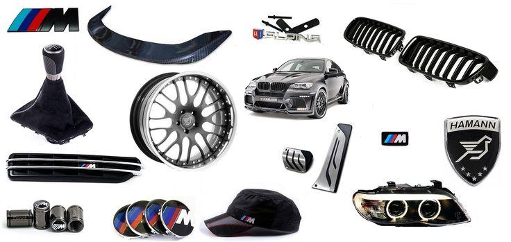 """Запчасти и аксессуары для тюнинга и дооснащения BMW в интернет магазине """"SNS Avto Tuning"""" на сайте http://snstuning.ru"""