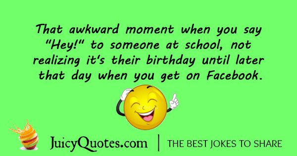 Funny Birthday Joke - 4