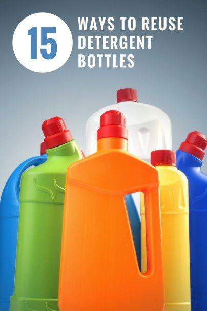 15 Ways to Reuse Detergent Bottles | DIY Craft Ideas | Recyclable Materials Inspiration | Frugal Living Hacks | Saving Money Ideas | Life Hacks