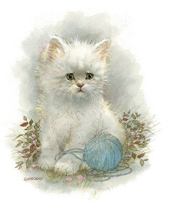 17 Best images about Cards-Illustrations Cats on Pinterest | Kitty ...