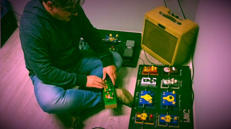 """George Katsanos is using Red Muck with Pocket Piano...and we say """"Let your imagination explore new sounds!!"""" https://www.youtube.com/watch?v=S_M_Iv34udU Follow us on YouTube, Twitter, Facebook and Instagram for more! #jampedals #redmuck"""