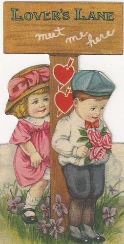 It's Lover's Lane Sweetheart . . .