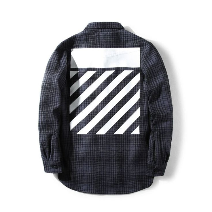 Keep it hip with this Gray Flannel Shirt from OFF-White. It's a checked shirt made from a cotton flannel. It's designed with  two buttoned pockets in front. Check out more designs at shopurl.com #OFFWhite #OFFWhiteClothing