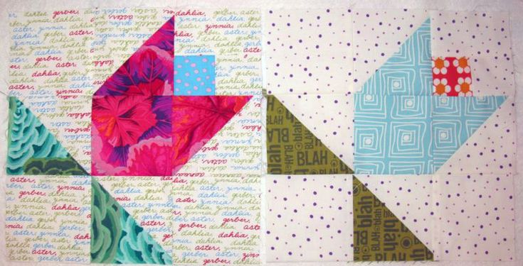 June Flowers/Tulip Tutorial | OccasionalPiece--Quilt!