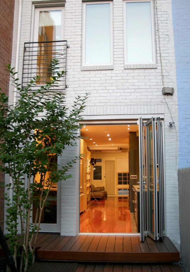 Modern Row House E X T E R I O R Pinterest Doors