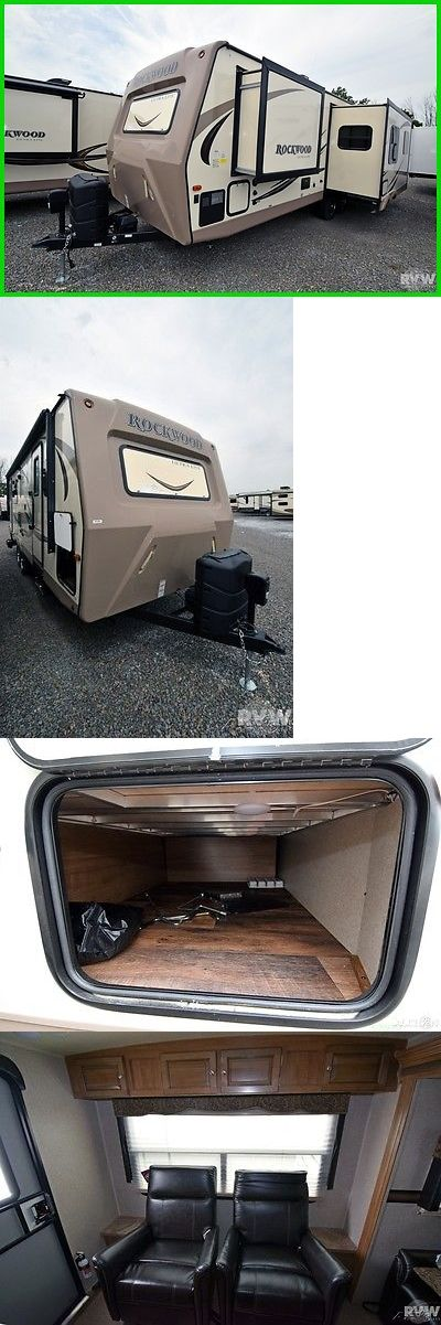 rvs: New 2017 Rockwood Ultra Lite 2604Ws Towable Travel Trailer Forest River Rv Camp -> BUY IT NOW ONLY: $21935 on eBay!