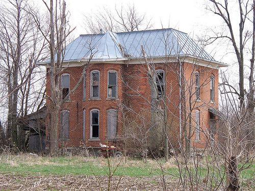 Abandoned House in Mt. Blanchard, Ohio by scottamus on Flickr.