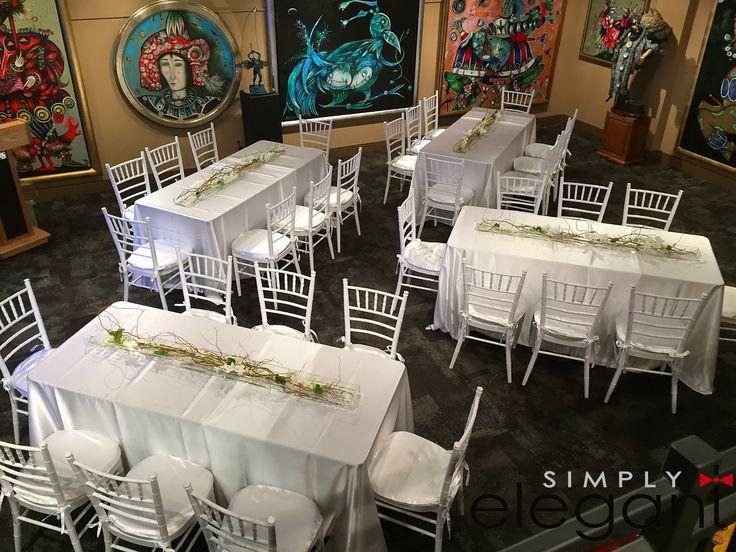 Simply Elegant clean white decor