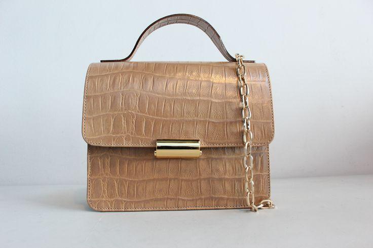 Mini suitcase beige